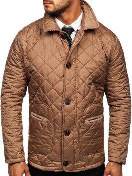 Béžová pánská elegantní přechodová husky bunda Bolf 0003