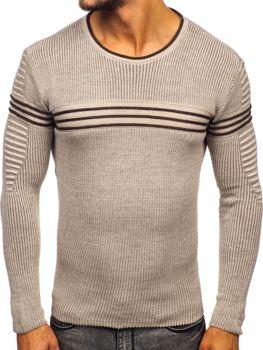Béžový pánský svetr Bolf 0001