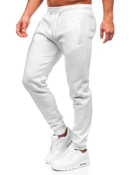 Bílé pánské tepláky Bolf XW01-A