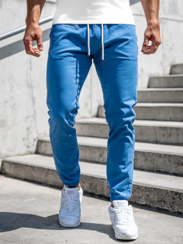Blankytné pánské jogger kalhoty Bolf 1145