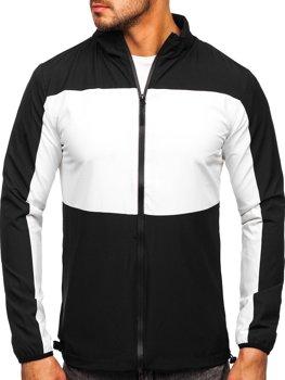 Černá pánská sportovní bunda větrovka Bolf HM094