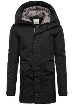 Černá pánská zimní bunda Bolf 5012