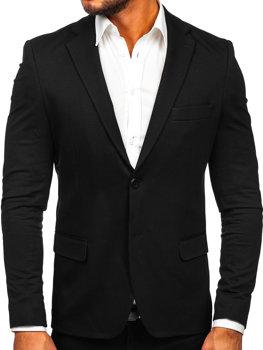 Černé pánské elegantní sako Bolf SR2003