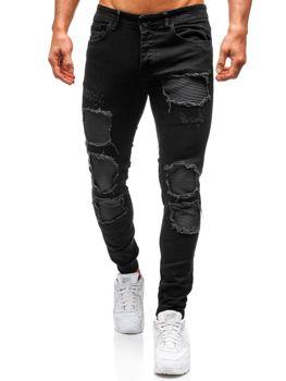Černé pánské jogger kalhoty Bolf 820