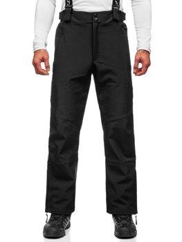 Černé pánské lyžařské kalhoty Bolf BK160