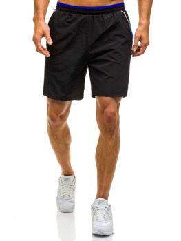 Černé pánské plavecké šortky Bolf WK15