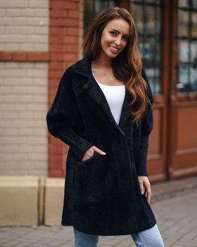 Černý dámský kabát Bolf 7108