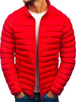 Červená pánská sportovní zimní bunda Bolf SM53-A 051eed76606