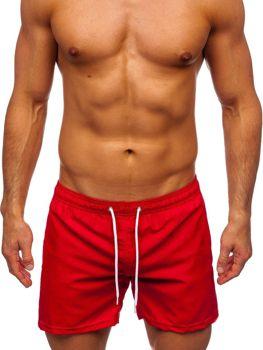 Červené pánské plavecké šortky Bolf ST002