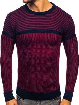 Červený pánský svetr Bolf 1013