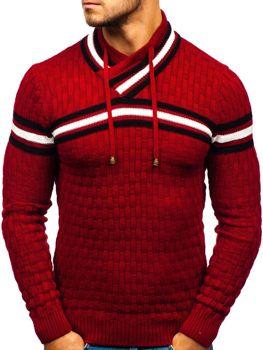 Červený pánský svetr Bolf 6006