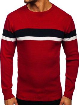 Červený pánský svetr Bolf H2072