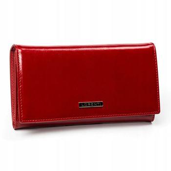 Dámská červená kožená peněženka 2899
