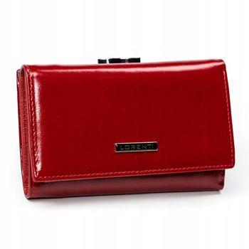 Dámská červená kožená peněženka 2907