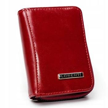 Dámská červená kožená peněženka 2909