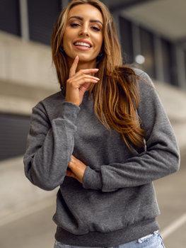 Grafitová dámská mikina Bolf W01