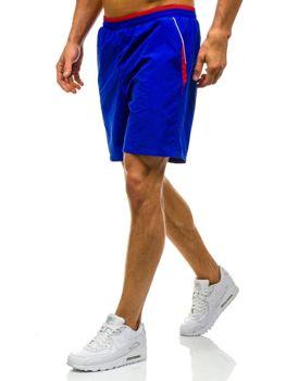 Královsky modré pánské plavecké šortky Bolf WK15