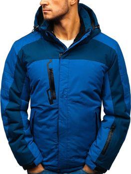 Modrá pánská zimní lyžářská bunda Bolf HZ8112