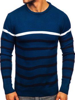 Modrý pánský svetr Bolf 1951