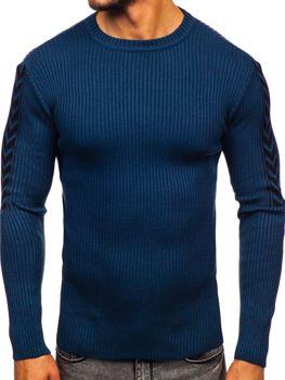 Modrý pánský svetr Bolf 360