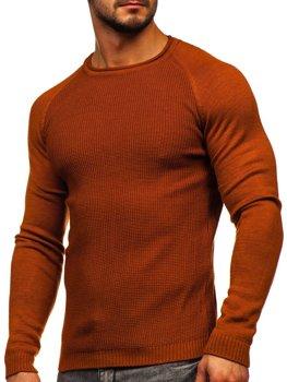 Oranžový pánský svetr Bolf 1009
