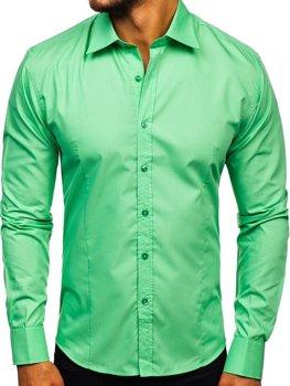 Pánská košile BOLF 1703 mátová