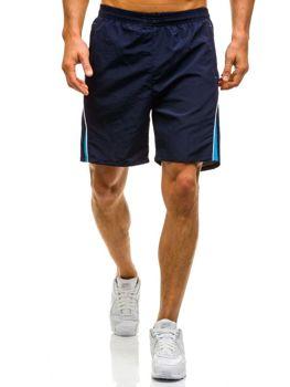 Tmavě modré pánské plavecké šortky Bolf WK13
