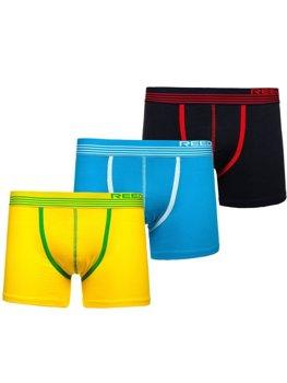 Vícebarevné pánské boxerky-1 Bolf G513 3 PACK