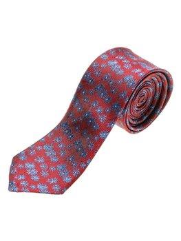 Vínová pánská elegantní kravata Bolf K107
