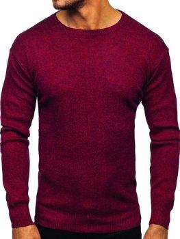 Vínový pánský svetr Bolf 8529