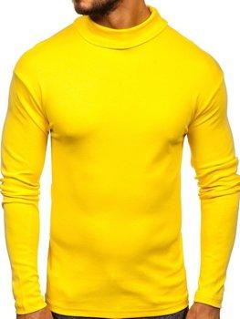 Žlutý pánský rolák bez potisku Bolf 145347