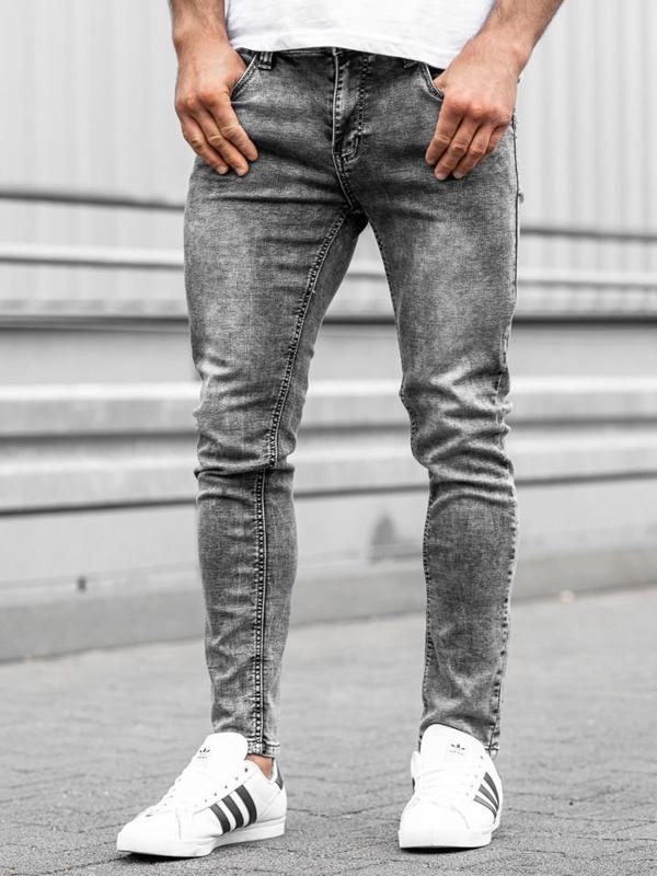 Černé pánské džíny Bolf KX186