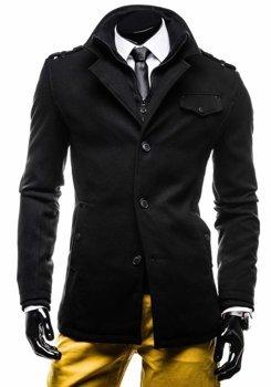 Černý pánský kabát Bolf 8853E