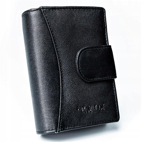 Dámská černá kožená peněženka 2774