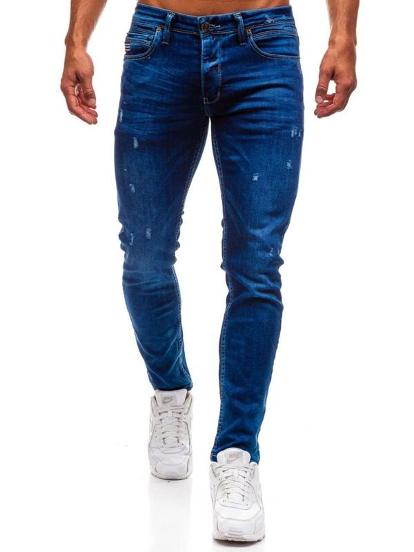 Modré pánské džínové kalhoty Bolf 0671