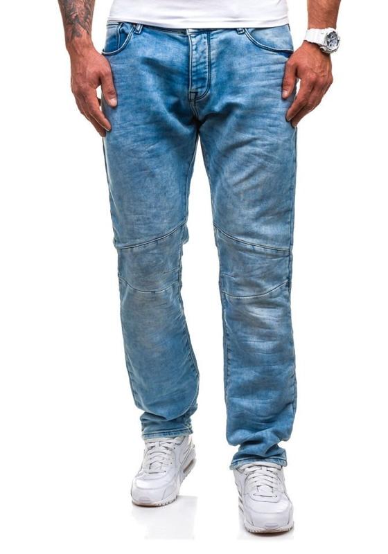 Modré pánské džínové kalhoty Bolf 4436 (8419)