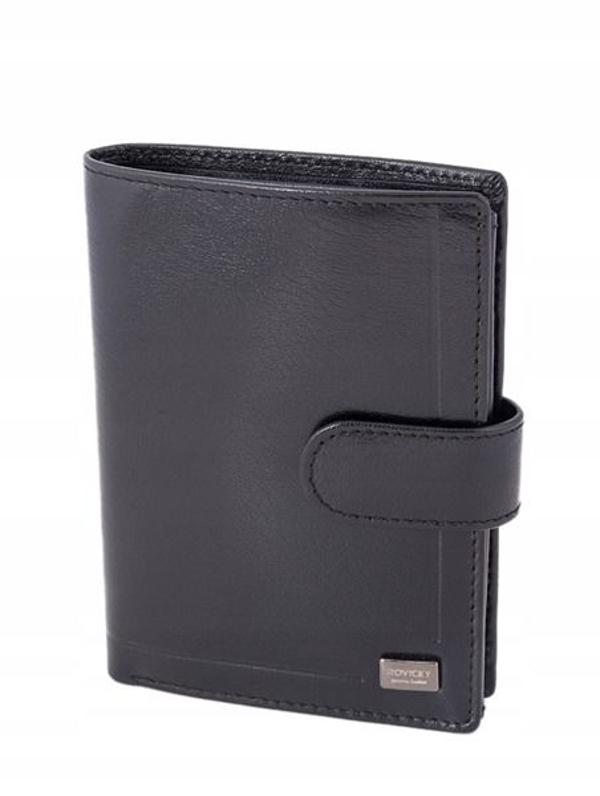 Pánská černá kožená peněženka 240