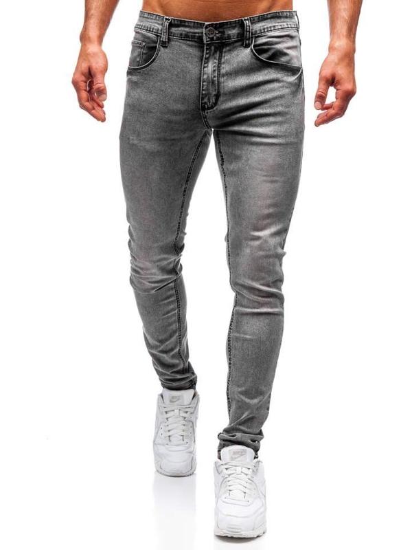 Šedé pánské džínové kalhoty Bolf 71831