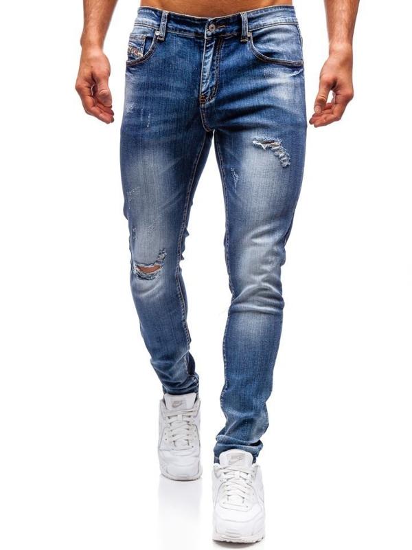 Tmavě modré pánské džíny Bolf 71824