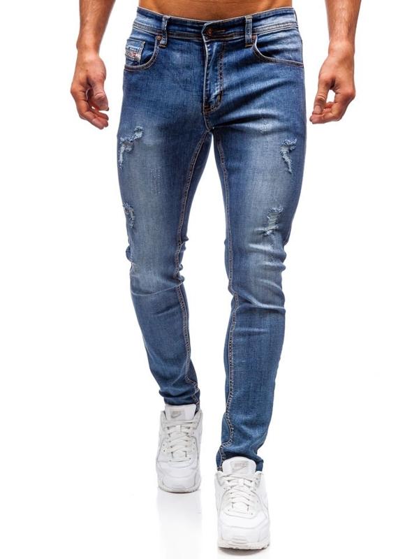 Tmavě modré pánské džíny Bolf 71833