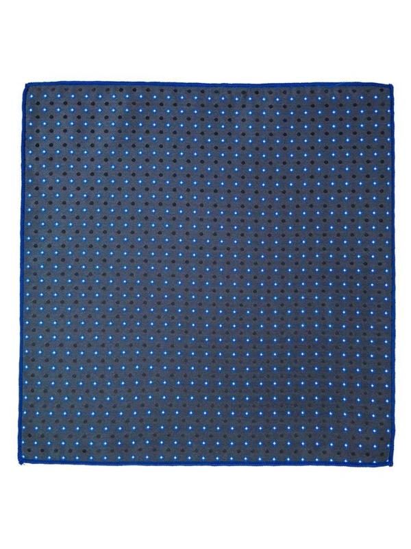 Tmavě modrý kapesníček do saka Bolf PO01