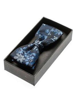 Tmavě modrý pánský elegantní motýlek Bolf M102