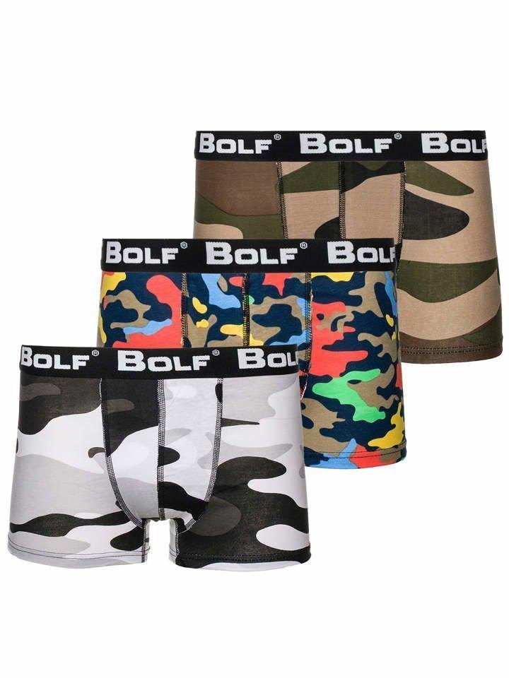 619a9dd62 Vícebarevné pánské boxerky Bolf 0953-3P 3 PACK