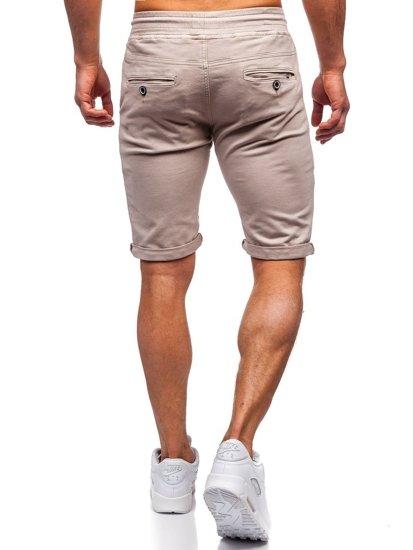 Béžové pánské plavecké šortky Bolf KG3720
