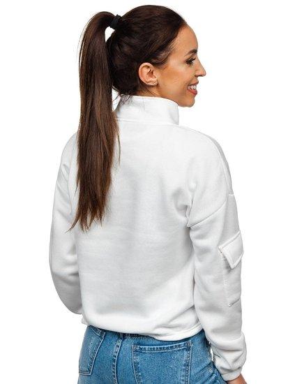 Bílá dámská mikina Bolf KSW2029