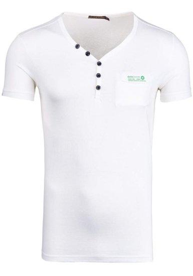 Bílé pánské tričko Bolf 6152