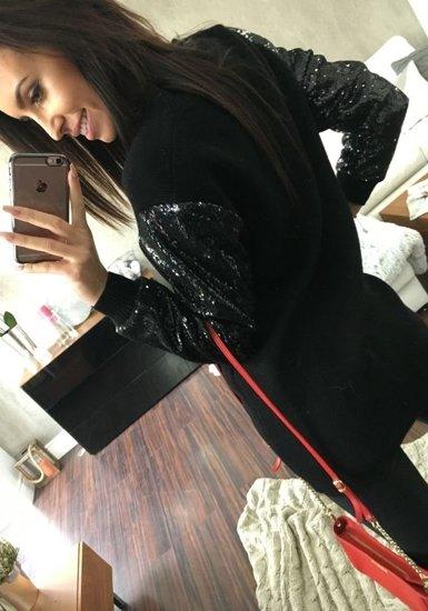 Černá dámská přechodná bunda Bolf 1521