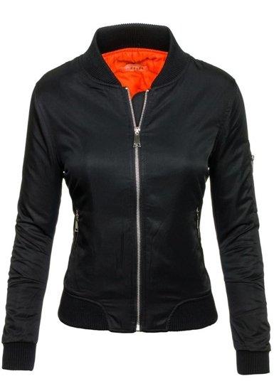 Černá dámská přechodná bunda Bolf 5612