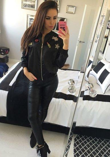 Černá dámská přechodná bunda Bolf 6252