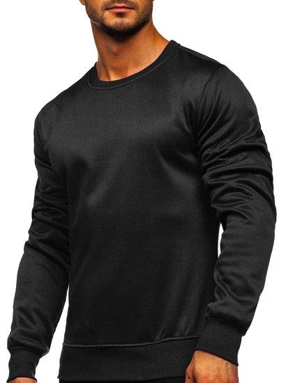 Černá pánská mikina bez kapuce Bolf 2001-2